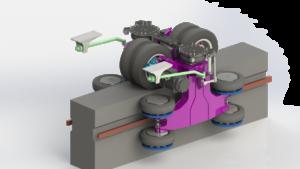 Monorail Antriebssystem. Quelle: Derap AG