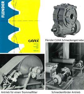 Nachbauten von älteren FLENDER Schneckengetriebe-Baureihen